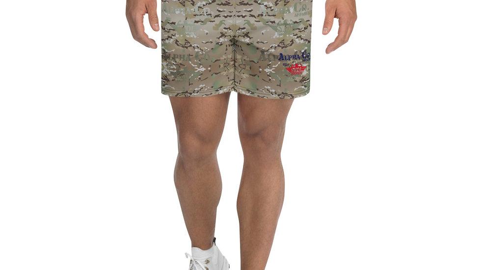 Men's Athletic / Swim Shorts   Alpha Co. Apparel (MultiCam)