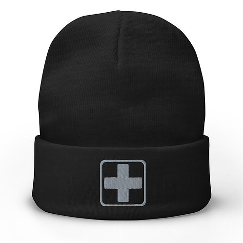 Embroidered Beanie | Badges of Honor (Paramedic, Subdued)