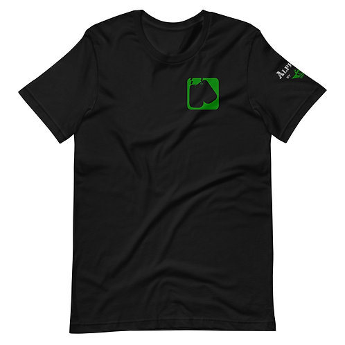 T-Shirt | Badges of Honor (Military, Black & Green)