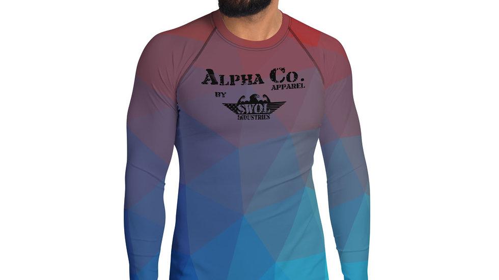 Men's Rash Guard Shirt | Alpha Co. Apparel | TempGeo