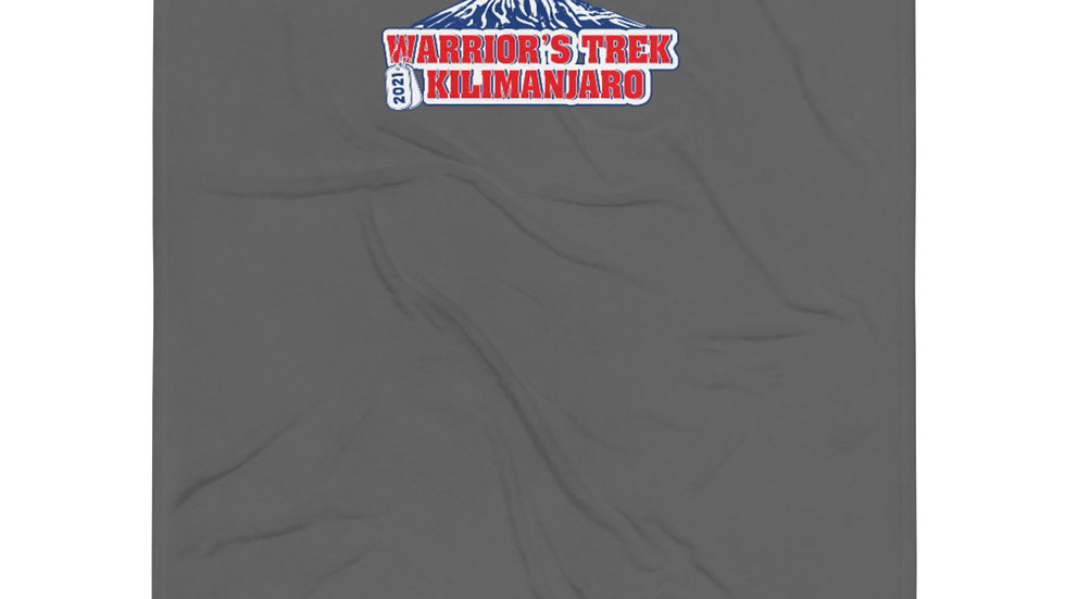 Warrior's Trek | Kilimanjaro | Throw Blanket