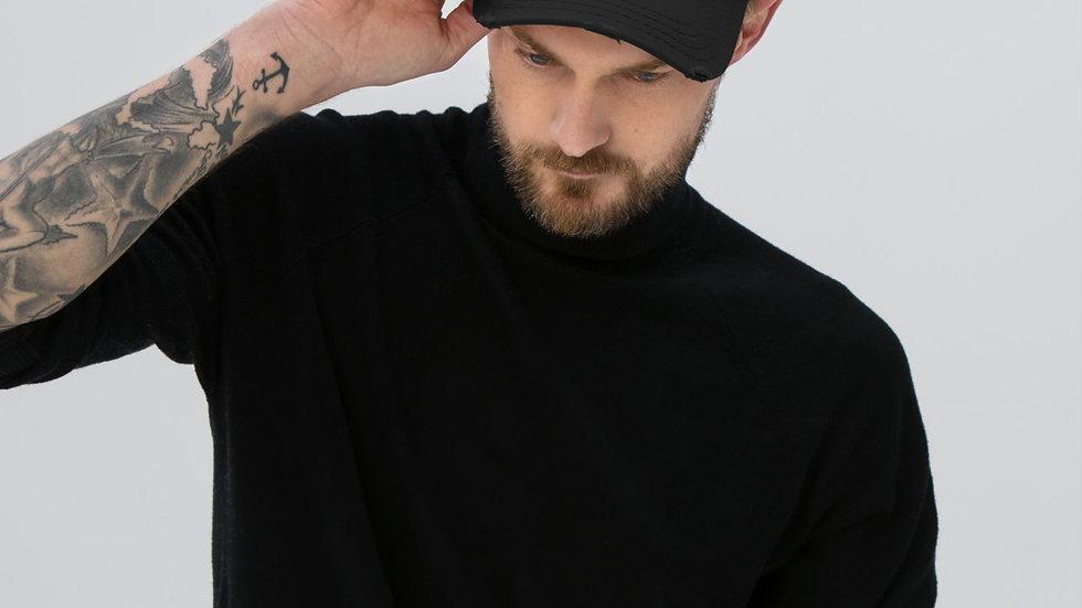 Distressed Hat | BOH Flag (Law Enforcement)