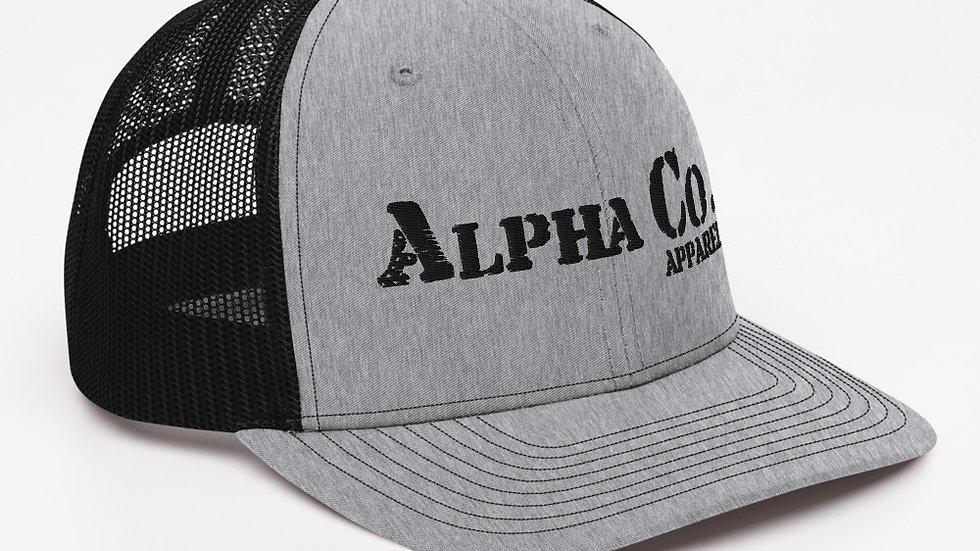 Trucker Cap - Alpha Co. Apparel