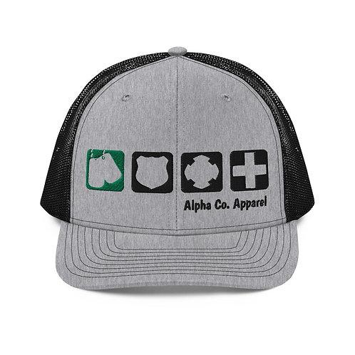 Ball Cap - Badges of Honor (Military)
