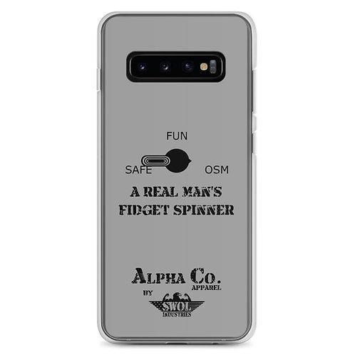 Samsung Case | Man's Fidget Spinner