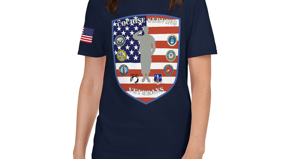 Short-Sleeve Unisex T-Shirt | Cochise Serving Veterans