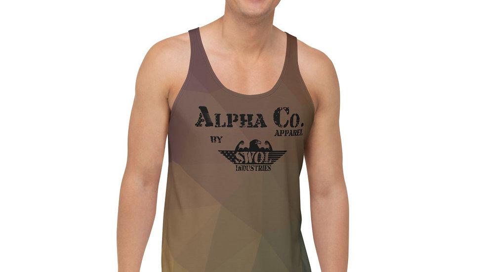 Men's Athletic Tank | Alpha Co. Apparel | DesertGeo Camo