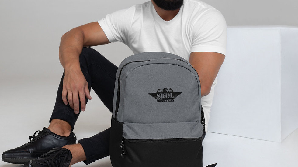 Embroidered Champion Backpack | Service Way of Life Industries