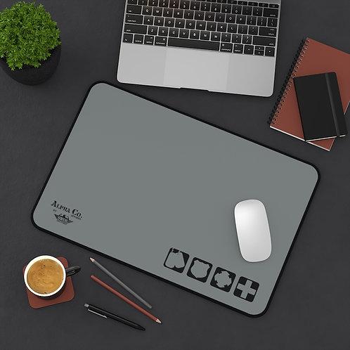 Desk Mat | Badges of Honor (Subdued)