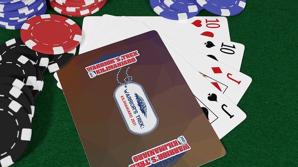 Warrior's Trek   Kilimanjaro   Poker Card Deck