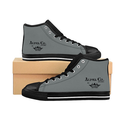 Men's High-top Sneakers | Alpha Co. Apparel (Subdued)