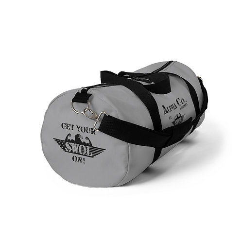 Duffel Bag | Get Your SWOL On! (Grey, Subdued)