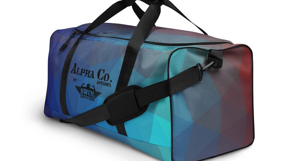 Duffle Bag | Alpha Co. Apparel | TempGeo