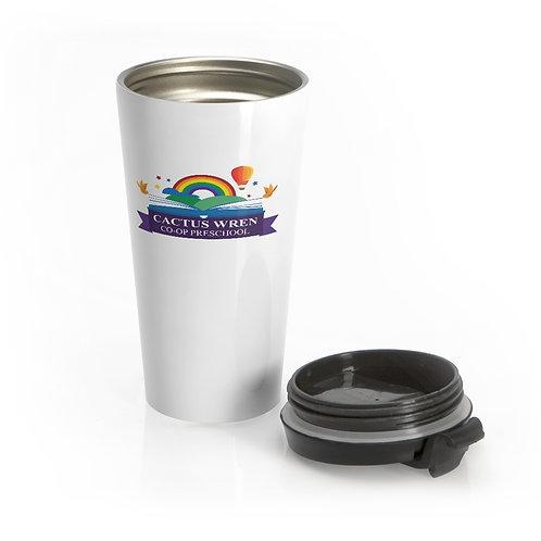 CWCP   Stainless Steel Travel Mug