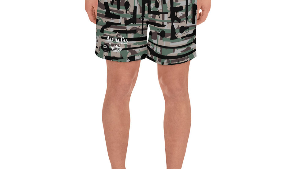 Men's Athletic/Swim Shorts | Range Day Camo