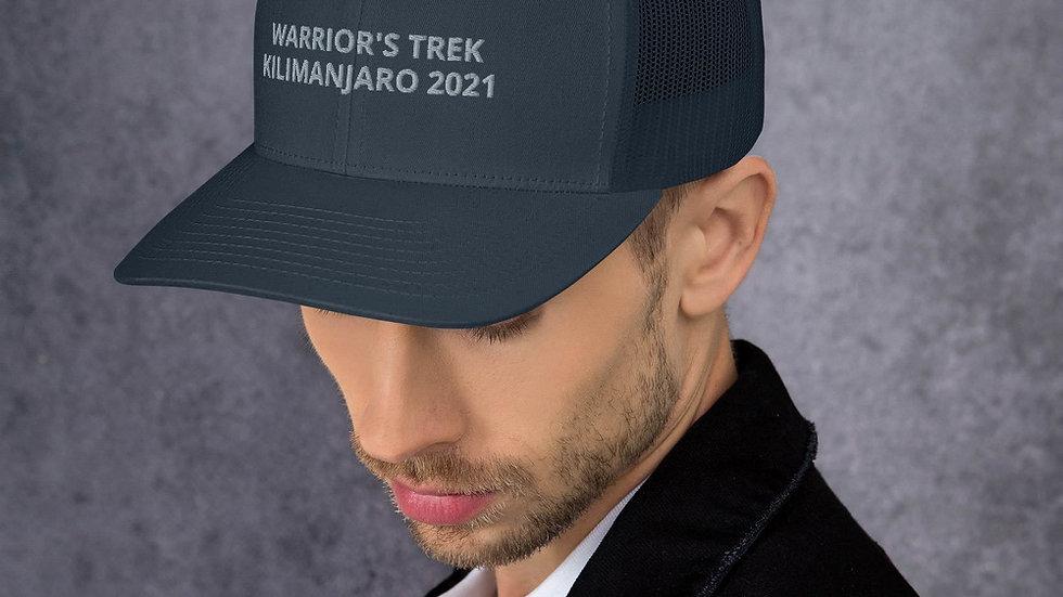 Warrior's Trek | Kilimanjaro | Trucker Cap (Dark)