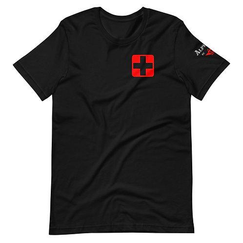 T-Shirt | Badges of Honor (Paramedic, Black & Red)