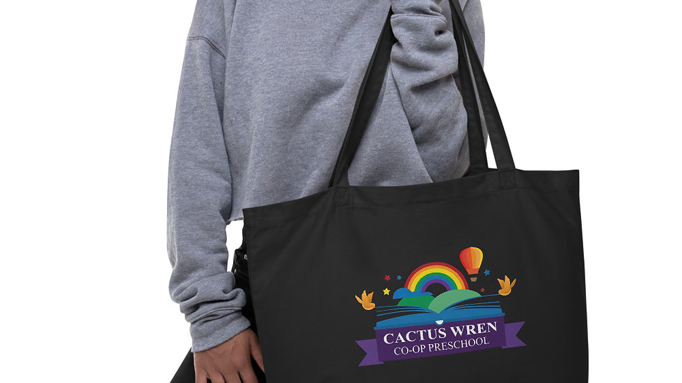 CWCP   Large Organic Tote Bag