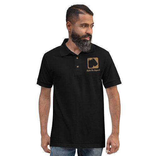 Embroidered Polo Shirt   Badges of Honor (Military, USA)