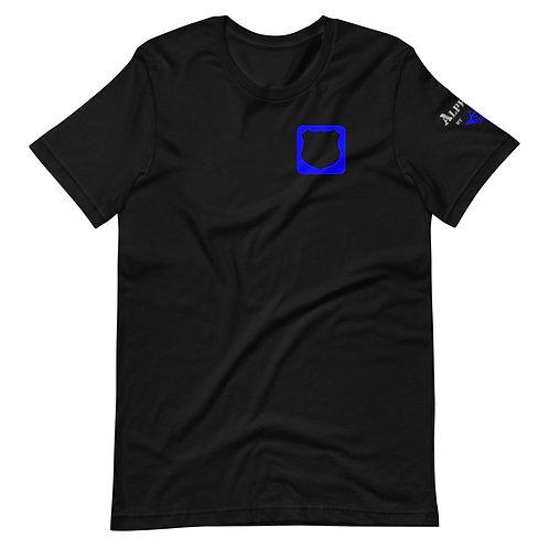 T-Shirt   Badges of Honor (Law Enforcement, Black & Blue)