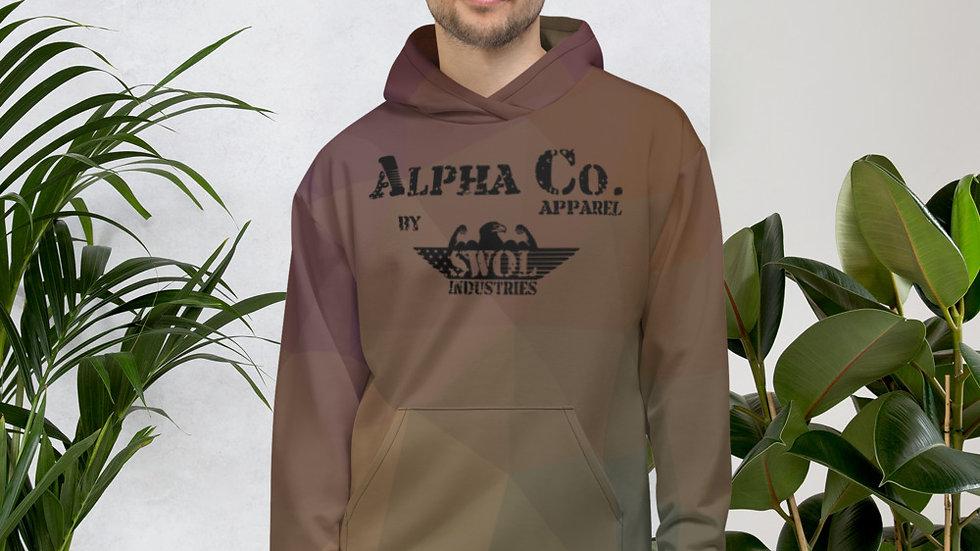 Unisex Hoodie | Alpha Co. Apparel | DesertGeo Camo