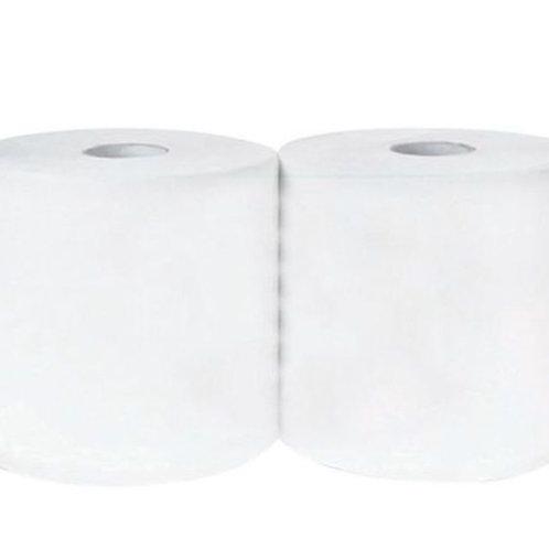 Rolo industrial reciclado com 800 folhas – Branco