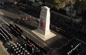 Annual Act of Remembrance at the Cenotaph on Whitehall, London