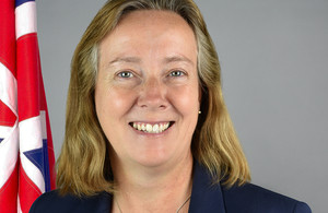 Dstl's Dr Kate Gill