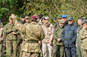 The British Army has shown its transparency and commitment to international arms control agreements by hosting an international delegation of inspectors at 16 Air Assault Brigade