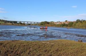 Surveys take place on Wansbeck Lake