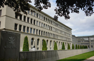 The WTO is headquartered in Geneva