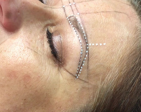 Microblading Mapping