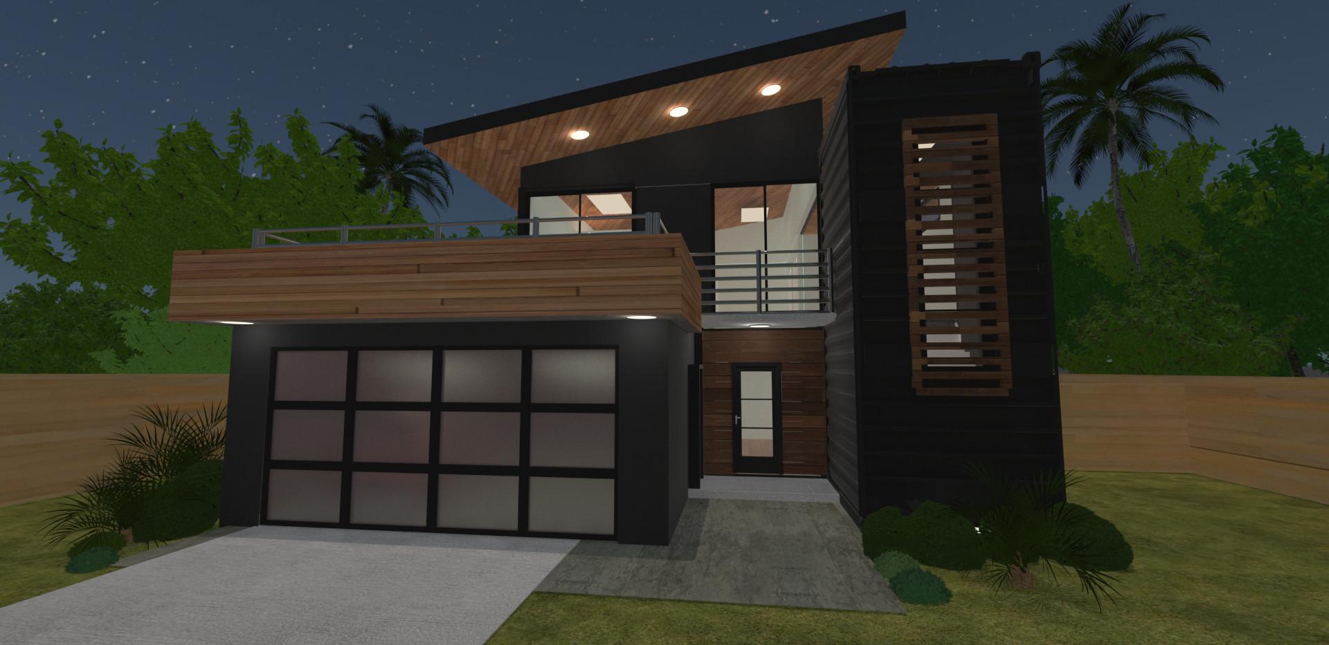 Contemporary Container Home