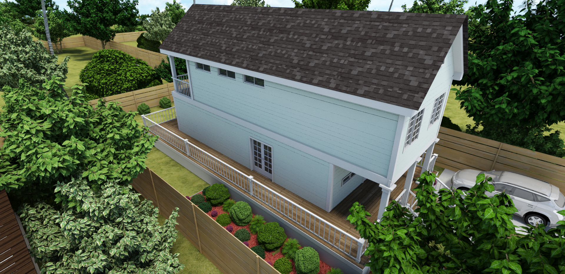 Traditonal Style Container Home View 3
