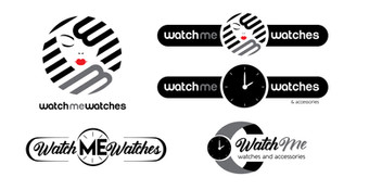 Watch Me Watches logo concepts