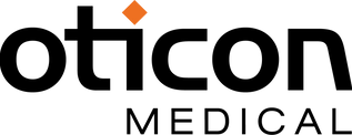 Oticon Medical logo_black_orange rhombus