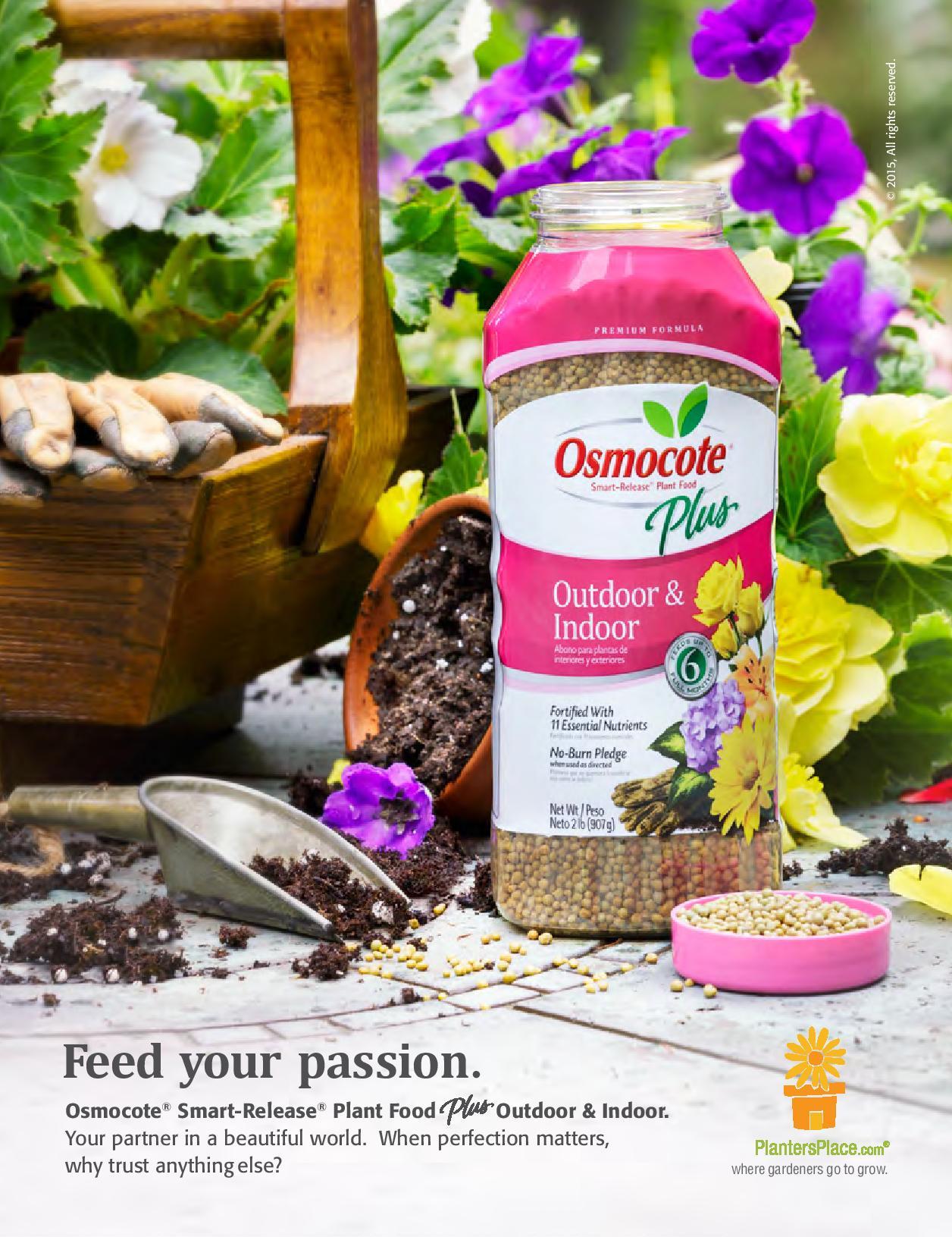 Osmocote 2015 Outdoor Indoor Ad