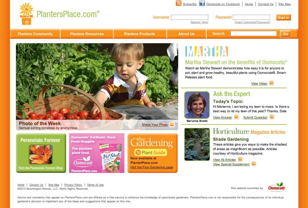 PlantersPlace.com