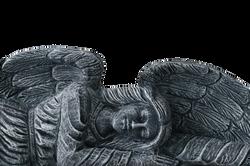 Angel Ornament in Granite monuments