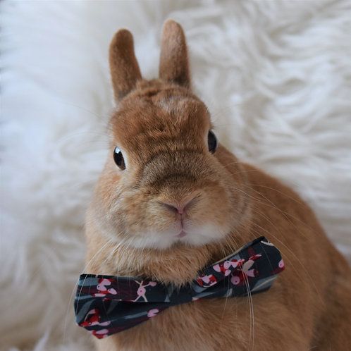 Leafy Forest Bow Tie