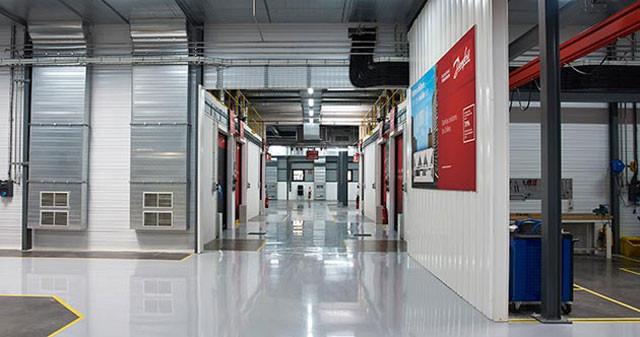 лаборатория Danfoss