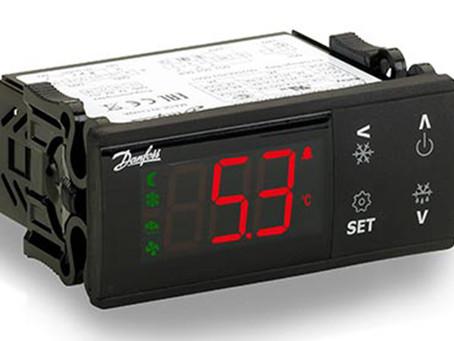 Новые контроллеры температуры серии ERC21X от Danfoss