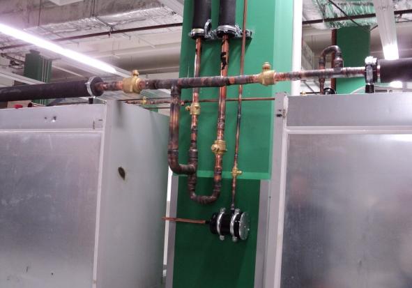 Монтаж холодильной централи