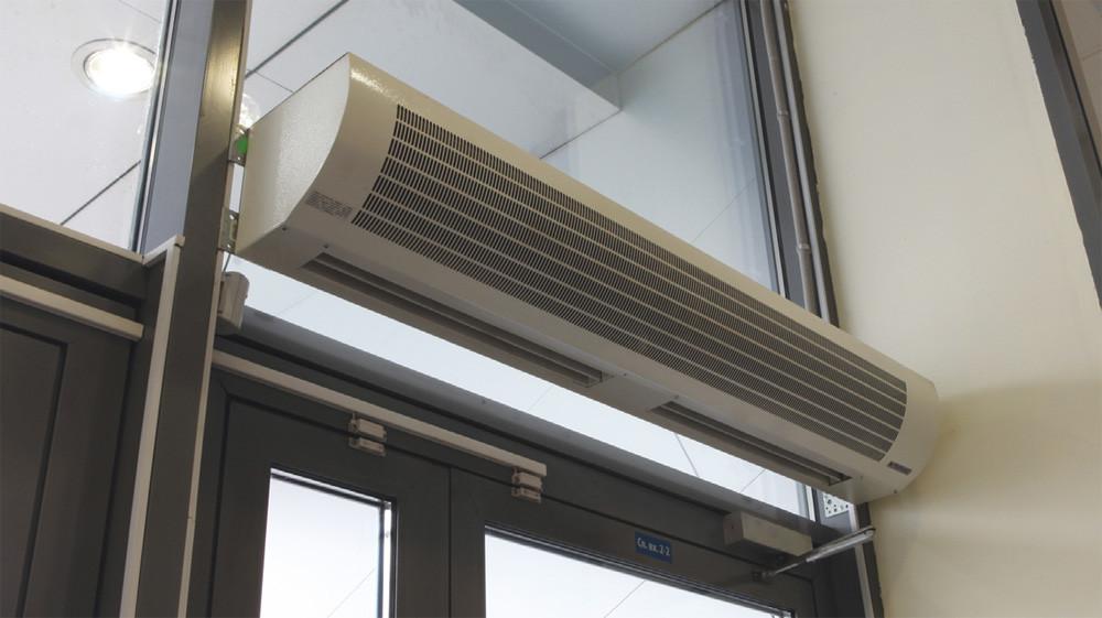 Тепловые завесы: разновидности нагревательных элементов