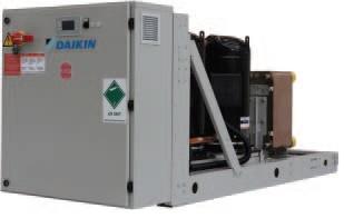 Новые чиллеры Daikin EWHQ-G-SS с водяным охлаждением конденсатора