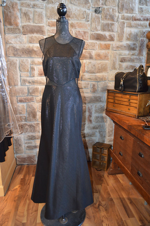 Large (12) Black Dress By JS Collections