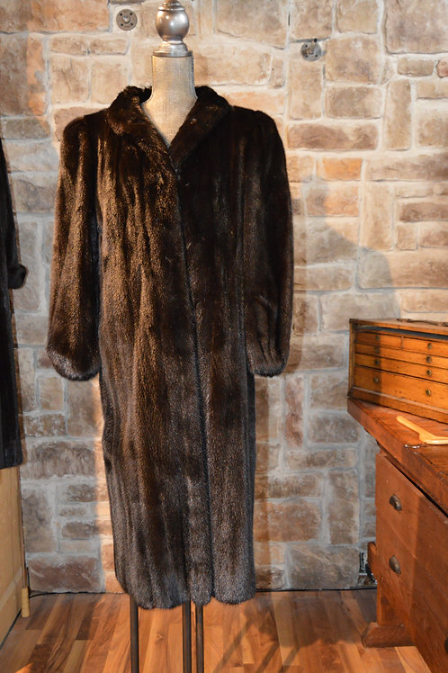 Large Ranch Mink Full-length Coat