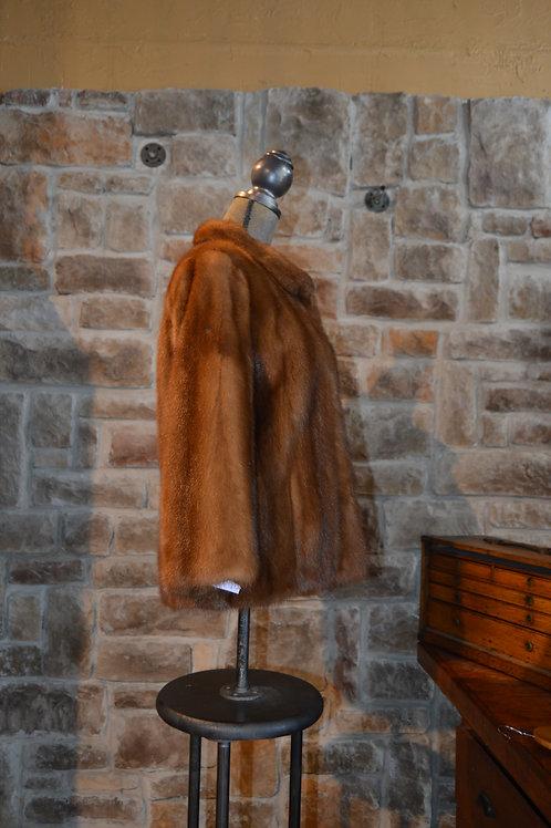 Medium/Large Autumn Haze Mink Jacket