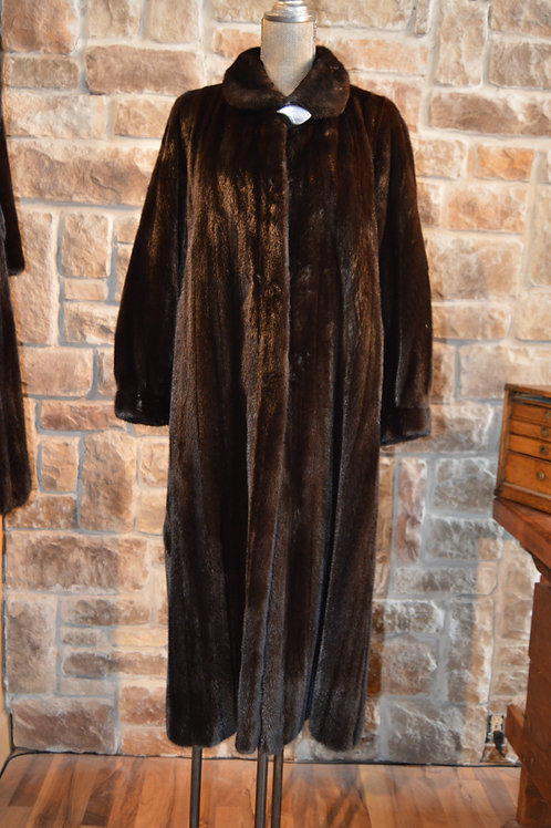 Small Ranch Mink Full-length Coat
