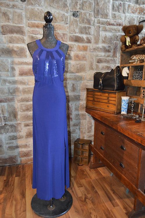 XL Long Blue Dress